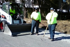 Public Works at work