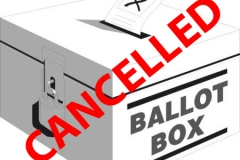 election cancelled